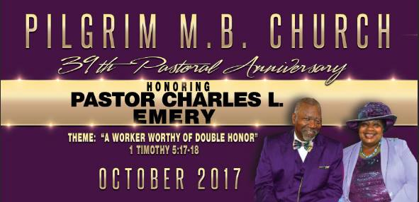 39th Pastoral Anniversary