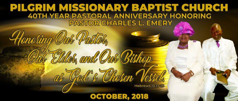 40th Pastoral Anniversary